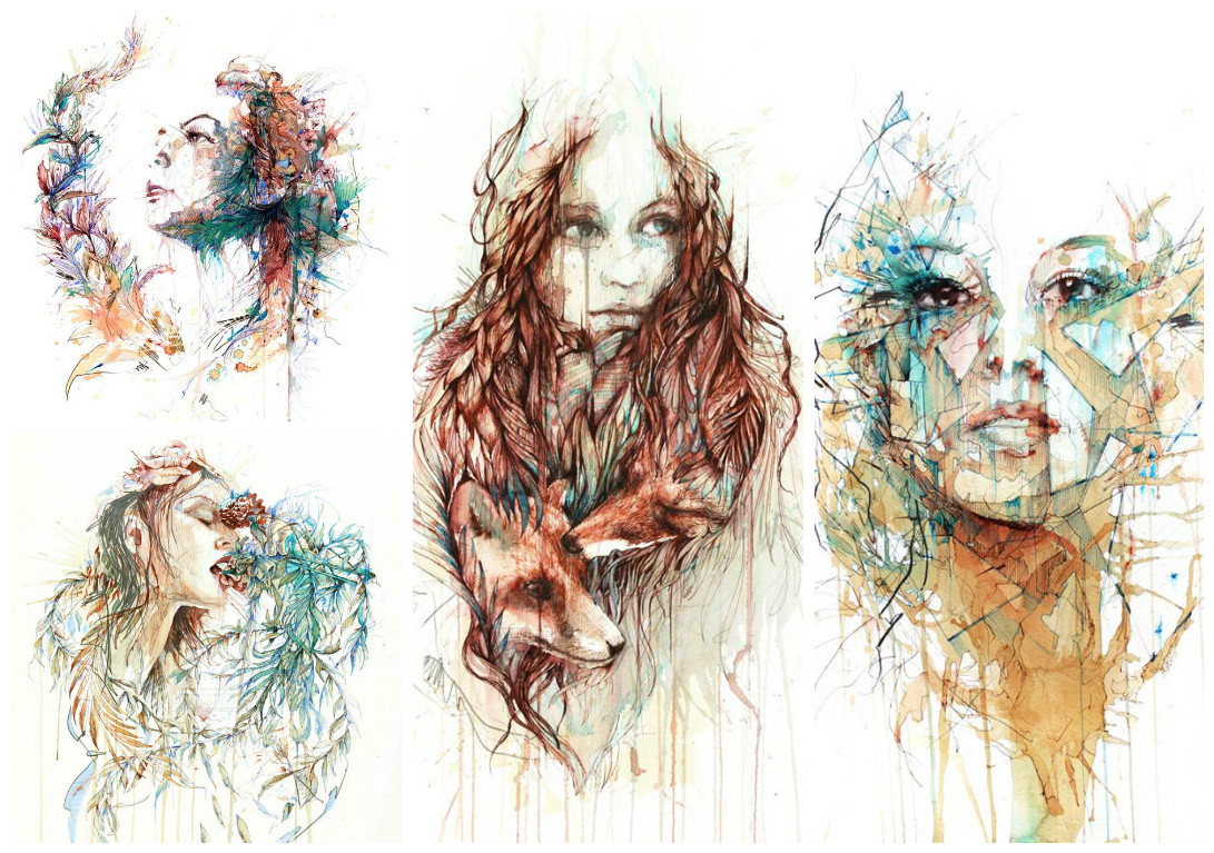 Carne Griffiths illustration originale