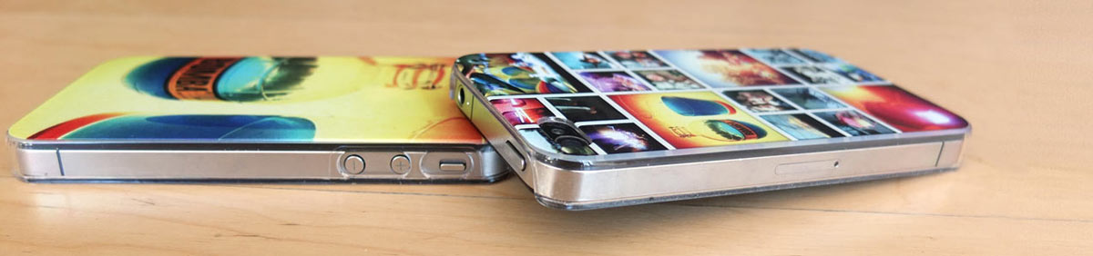 photo présentation coque smartphone
