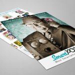 Création flyer pub smartpop