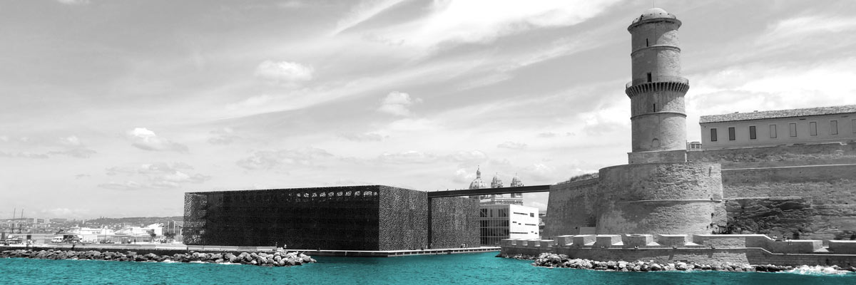 Retouche photo Mucem marseille