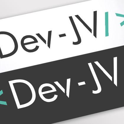 Création du logo pour Dev-jv