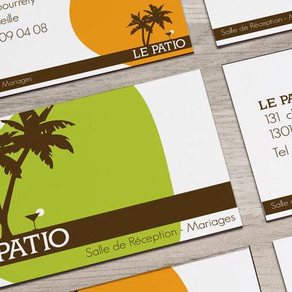 Création identité visuelle et logo – Le Patio
