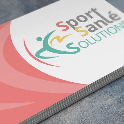 création du logo – Sport Santé Solutions