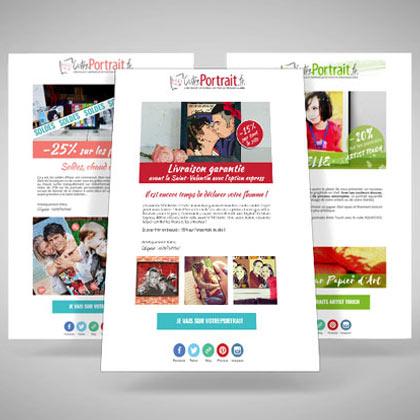 Newsletter et réseaux sociaux