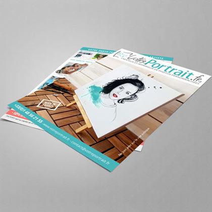 Création de flyer et autres supports print