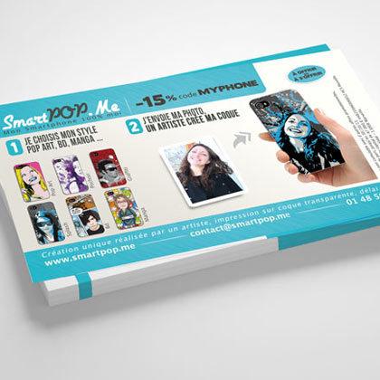 Création print, flyer et dossier de presse