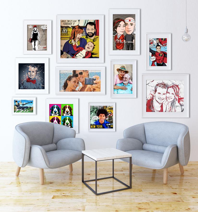 tableaux personnalisés votreportrait.fr