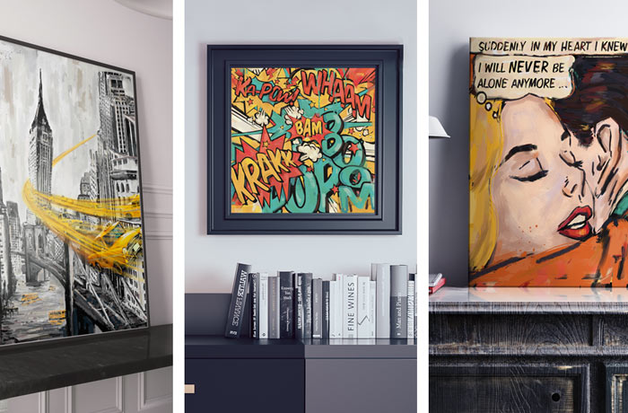 vente de tableau déco original et artistique