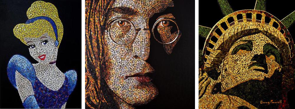 Mosaique puzzle Douglas Powell