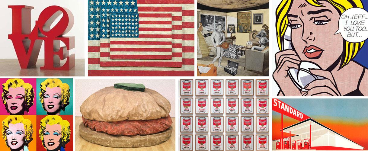 tableau pop art et sculpture expo Icon That Matter