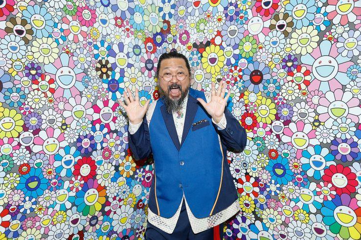 Takashi Murakami , star japonaise de l'art contemporain