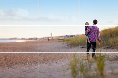 Appliquer la règle de tiers pour faire de belles photos