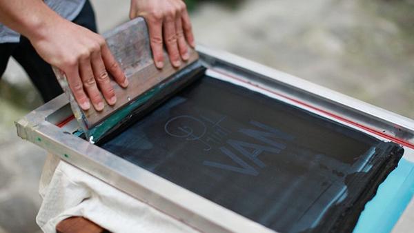 Impression sérigraphie textile